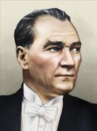 Portrait Turkey Mustafa Kemal Ataturk