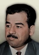 Portrait Saddam Hussein HOI IV
