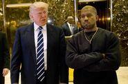 Trump kanye west