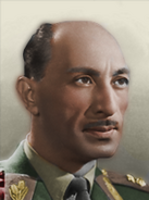 Portrait Afghanistan Mohammed Zahir Shah