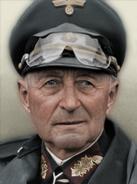 Portrait Generalgouvernment Leo Geyr von Schweppenburg