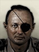 Portrait Israel Moshe Dayan