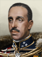 Portrait Alfonso XIII