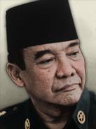 Portrait indonesia sukarno