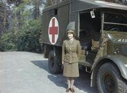 Hrh Princess Elizabeth in the Auxiliary Territorial Service, April 1945 TR2832
