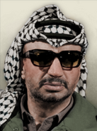 Portrait Palestine Yasser Arafat