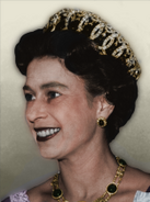 Portrait Britain Elizabeth II