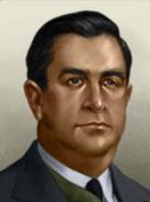 Portrait Mexico Manuel Avila Camacho