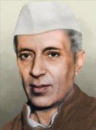 Portrait India Jawarlahal Nehru