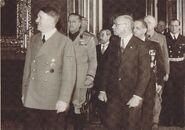 Teleki & Hitler Tripartite-pact