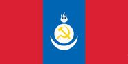 Bandera del Protectorado de Mongolia