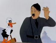 Daffy the commando Hitler