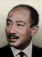 Portrait Egypt Anwar Sadat