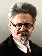 Portrait Leon Trotsky