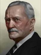 Portrait John Pershing Civil