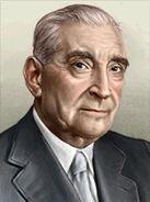 Portrait Portugal Antonio de Oliveira Salazar