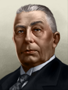 Portrait Netherlands Hendrikus Colijn