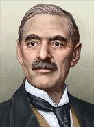 Portrait Britain Neville Chamberlain