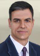 Portrait Spain Pedro Sánchez