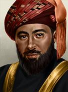 Portrait oma said bin taimur