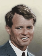 Portrait USA Robert Kennedy