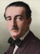 Portrait Albania Ahmet Zogu