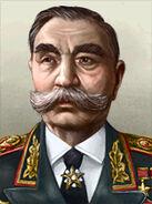 Portrait Soviet Semyon Budyonny