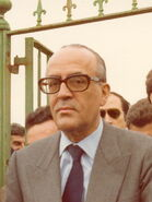 Visita del Calvo-Sotelo 1976