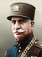 Portrait Iran Reza Shah Pahlavi