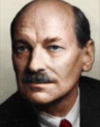 Portrait Kaiserreich Clement Atlee