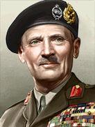 Portrait Britain Bernard Montgomery