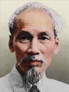 Portrait Vietnam Ho Chi Mihn