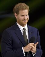 800px-Prince Harry at the 2017 Invictus Games opening ceremony
