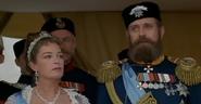 Alejandro III y su esposa