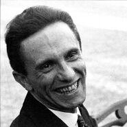 Smiling Goebbels