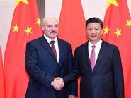 Xi y Lukashenko