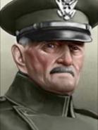 Portrait John Pershing Militar