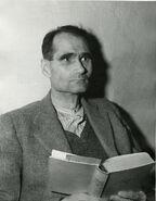Rudolf Hess at Nuremberg prison