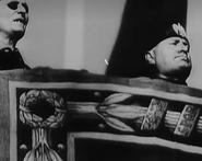 Mussolini y Millan Asrray