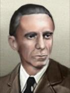 Portrait Germany Mod Joseph Goebbels