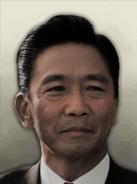 Portrait Azad Hind Ferdinand Marcos