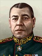 Portrait Soviet Boris Shaposhnikov