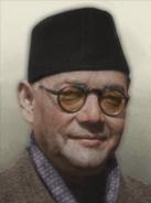 Portrait Azad Hind Subhas Chandra Bose