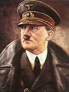 Retrato de hitler
