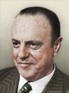 Portrait Iberia Manuel Fraga