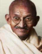 Portrait india gandhi
