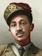 Portrait Afganistan Mohammed Zahir Shah