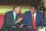 Vladimir Putin with Saparmurat Niyazov-6