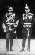 270px-Bundesarchiv Bild 183-R43302, Kaiser Wilhelm II. und Zar Nikolaus II.