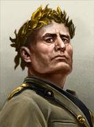 Emperor mussolini